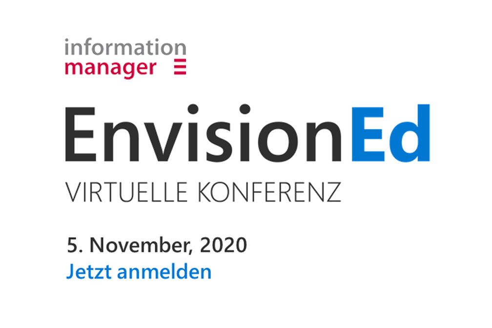 """Event Banner """"EnvisionED - Virtuelle Konferenz"""""""